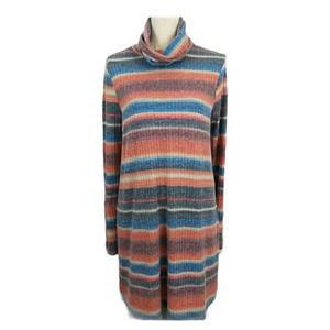 Altar'd State Cowl Neck Sweater Dress L